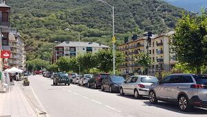 Pla general de l'avinguda dels Comtes de Pallars de Sort