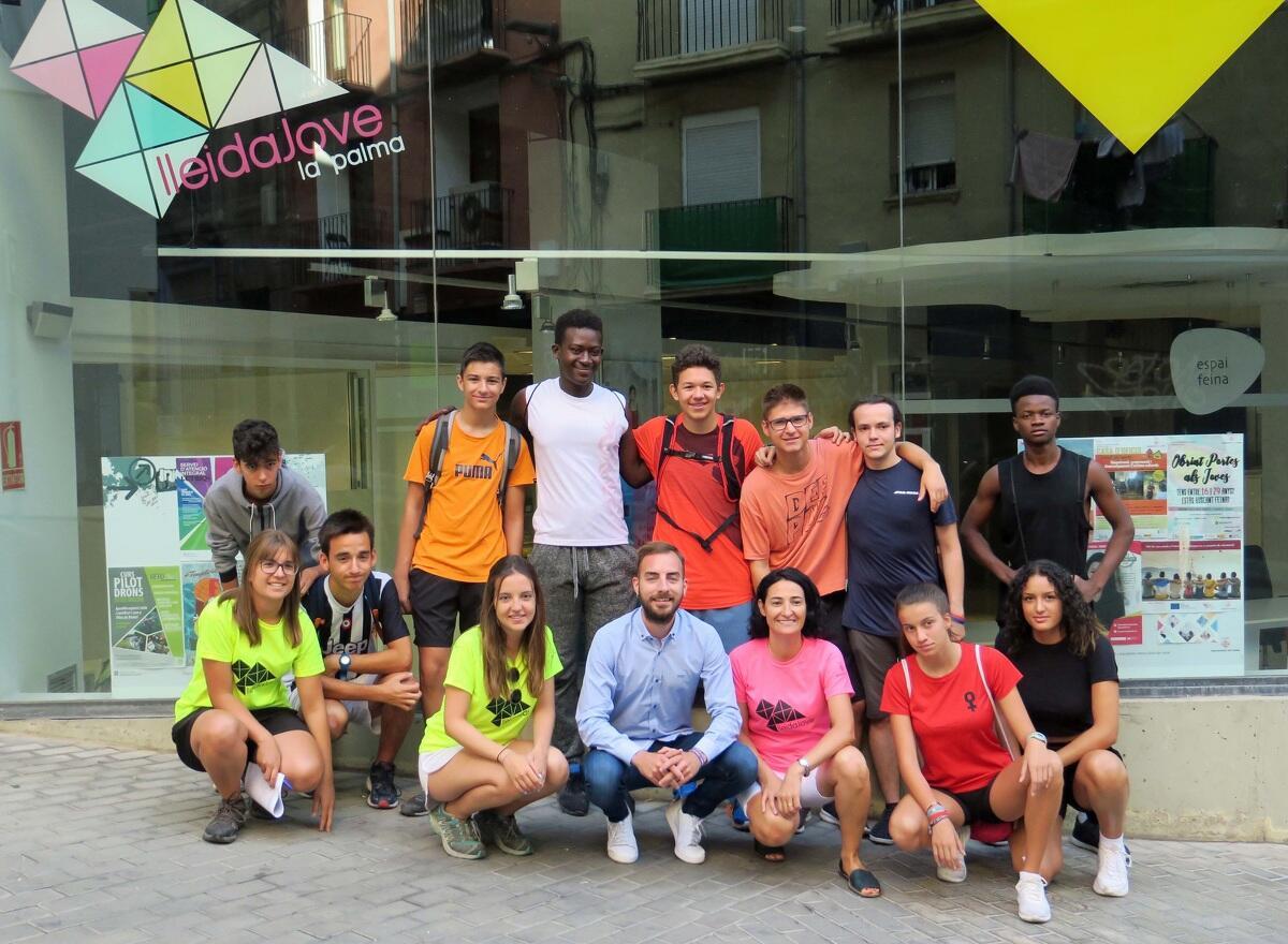Imatge d'alguns dels participants a l'Agenda Jove