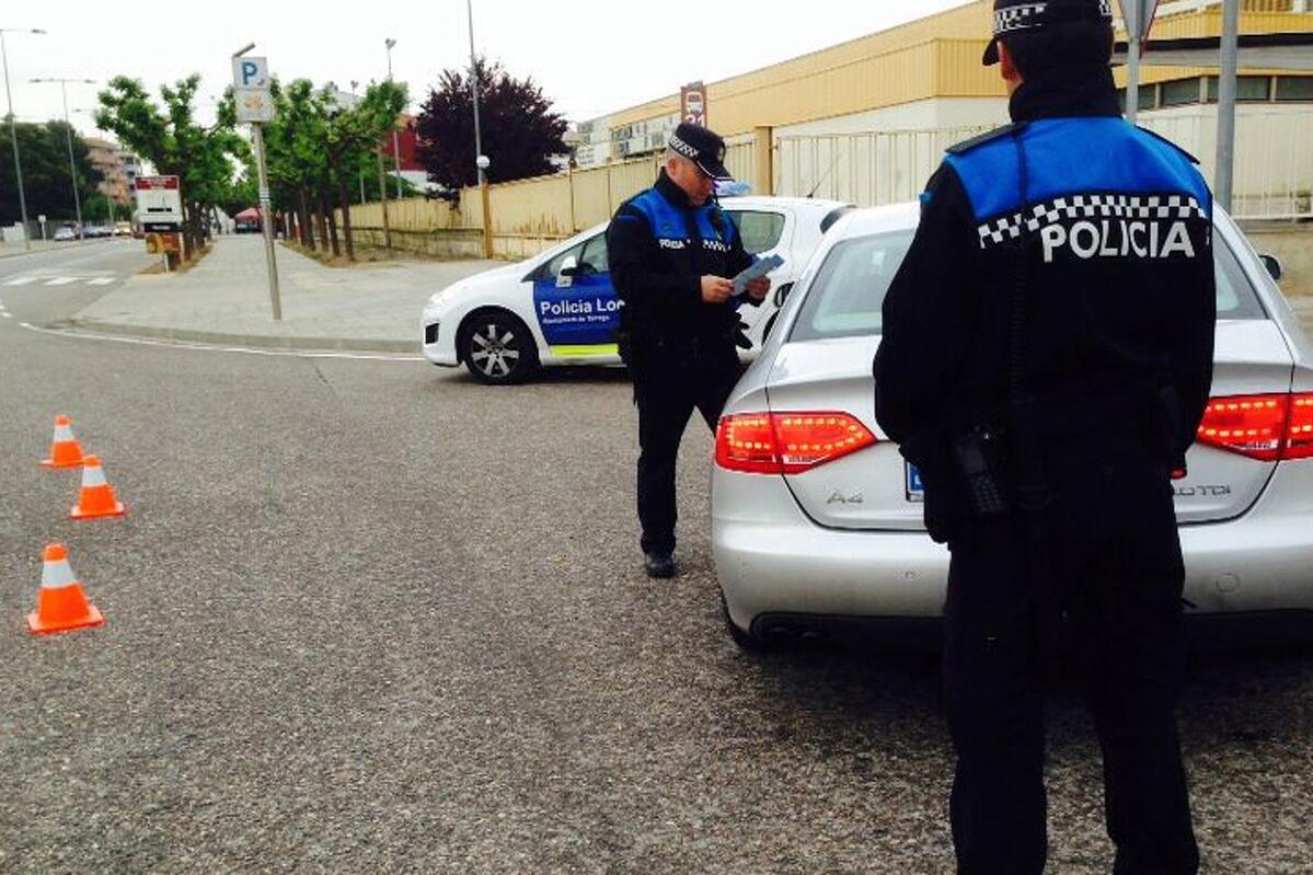 Imatge de la policia local de Tàrrega