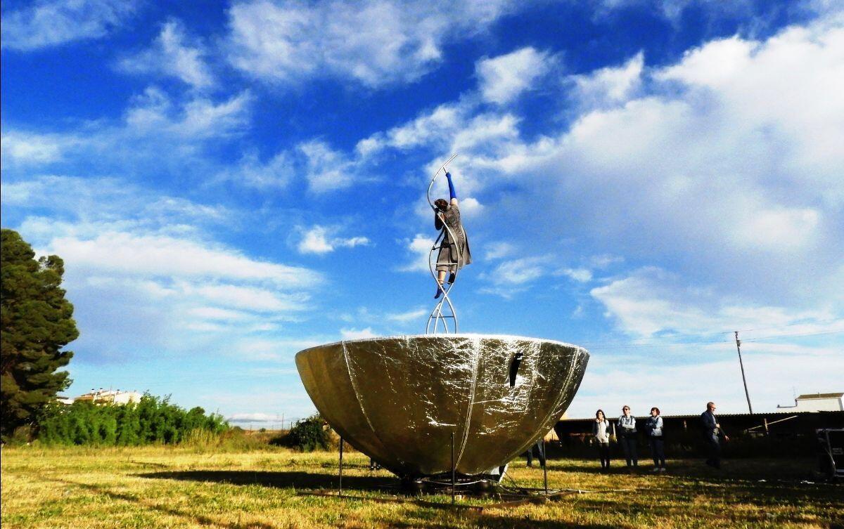 Imatge d'una obra que es podrà veure a FiraTàrrega