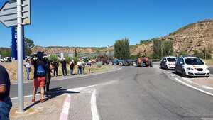 Imatge de l'anterior tall de carretera