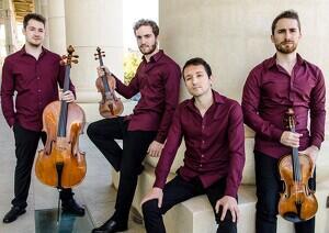 Imatge dels integrants de Carvaggio Piano Quartet