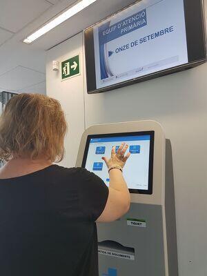 Imatge d'una de les màquines