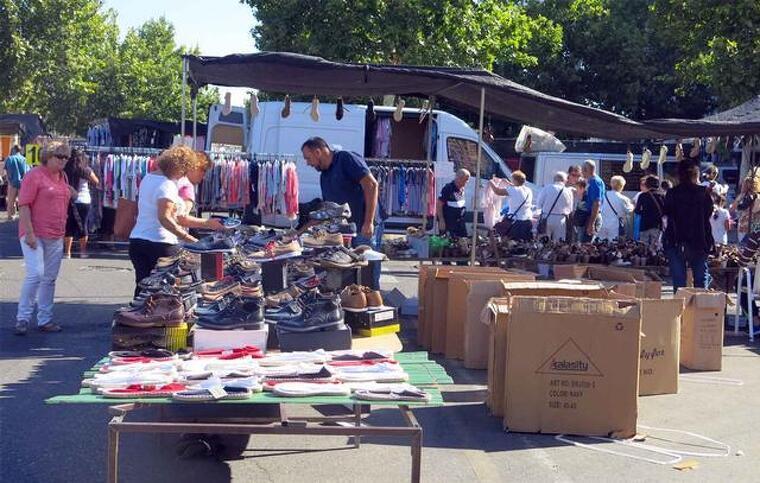 Imatge d'arxiu del mercat del Camp d'Esports de Lleida.