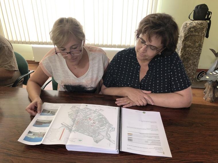 Les tinentes d'alcalde de les Borges Blanques, Maria Fusté i Núria Palau