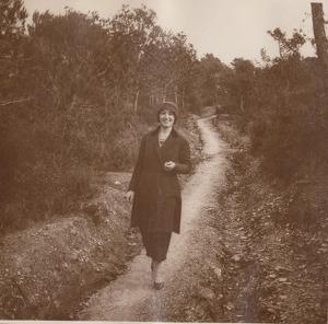 Hermínia Grau i Aymà, a Escornalbou als anys 20.