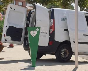 Imatge de la instal·lació dels aparells