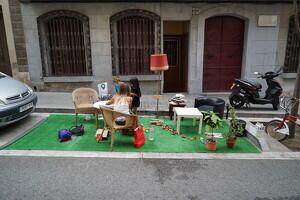 Imatge de l'iniciativa a Barcelona