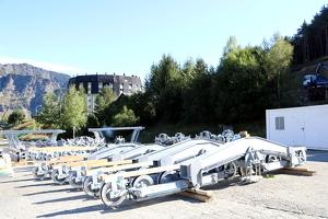 Pla general de material per la construcció del nou telecadira d'Espot