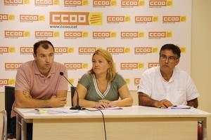 Pla general dels responsables de Comissions Obreres (CCOO) de Catalunya