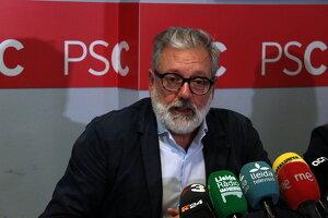 Pla mitjà del cap de l'oposició a la Paeria i exalcalde de Lleida, Fèlix Larrosa