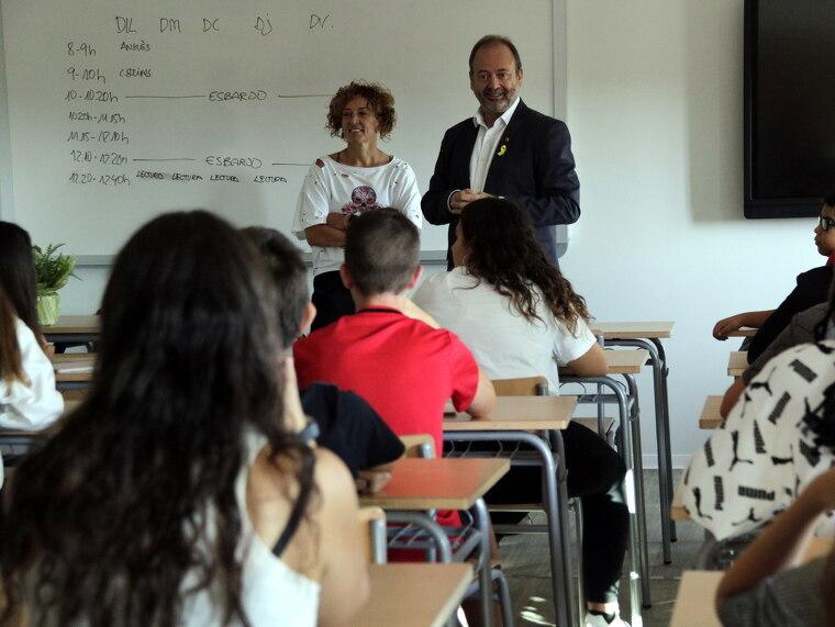 El director dels serveis territorials d'Educació a Lleida, Carles Vega