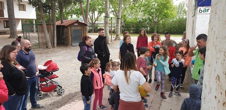Imatge d'una visita a La Manreana