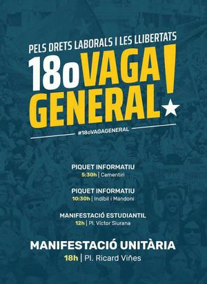 18O, vaga general!