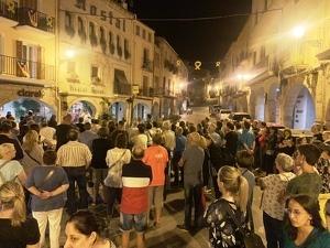 Concentració de protesta a les Borges per les detencions i empresonaments de 7 integrants dels CDR