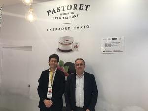 Ferran Alemany, gerent de Torrons i Mel Alemany i Xavier Pont, gerent de Pastoret
