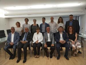 Fotografia de la corporació municipal d'Alcarràs per al mandat 2019-2023