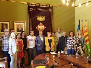 Imatge d'arxiu dels tretze regidors que integren l'Ajuntament de les Borges Blanques