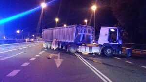 Imatge de l'accident a Balaguer