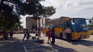 Imatge del bus turístic de Lleida