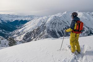 Imatge d'un esquiador de Baqueira