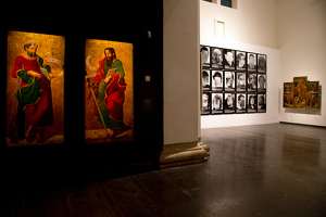 L'obra 'Presos polítics a l'Espanya contemporània', exposada al Museu de Lleida