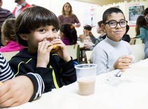 Nens bevent llet