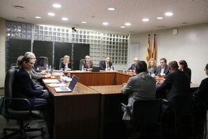 Reunió de la Sala de Govern del TSJC, a Lleida