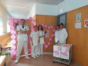 Una fotografia de l'equip del Servei de Radiodiagnòstic de l'Hospital Comarcal del Pallars