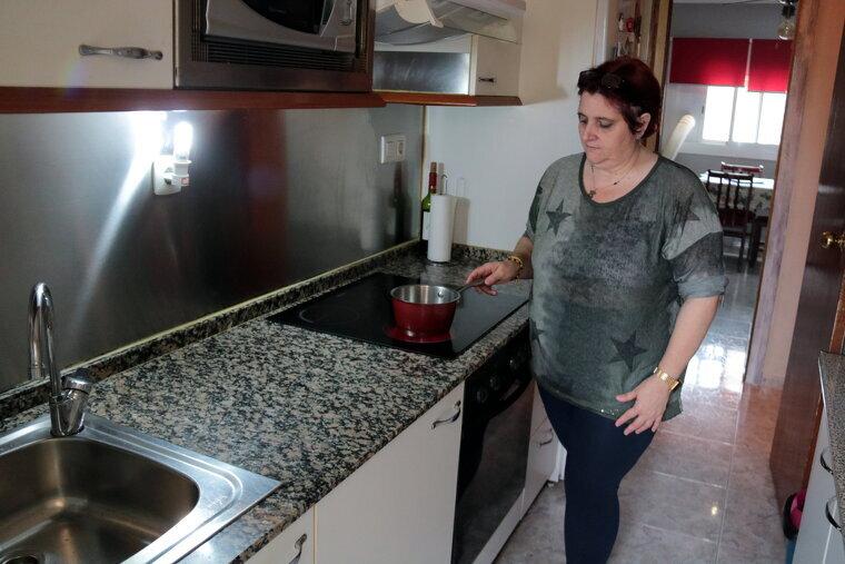 Imatge de la Dolors Ortiz, veïna del barri de la Bordeta de Lleida