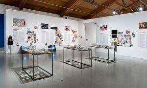 Imatge de l'exposició de La Más Bella a la Panera