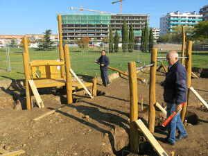Imatge del nou parc de Lleida