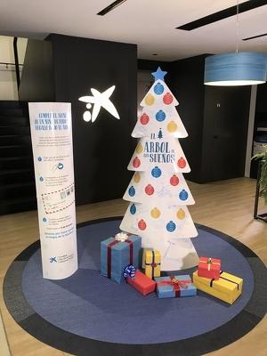 Imatge d'un dels arbres ubicats a les oficines de Lleida