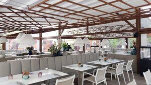 Imatge d'una altra modalitat de terrassa muntada per IASO