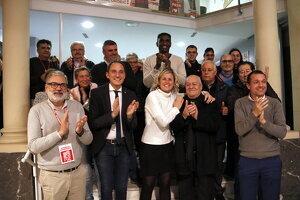 La cap de llista del PSC al Congrés per Lleida, Montse Mínguez