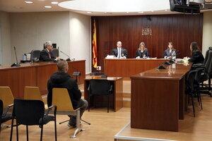 Pla general de l'Audiència de Lleida durant el judici a l'acusat d'abusos sexuals a Vilaller