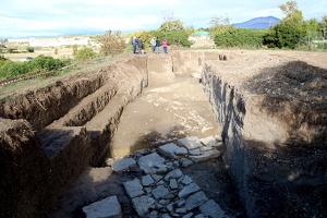 Pla general de les l'excavació de l'Hort del Cavaller d'Isona