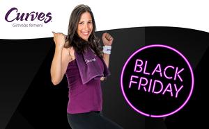 Promoció Black Friday de Curves Lleida.