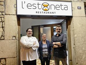 Santi Aubach, Encarna Calafell i Josep Maria Pons, ànimes de L'Estoneta