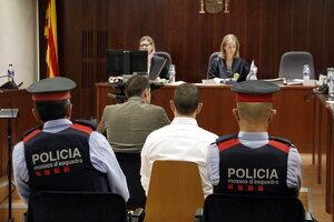 El sotsinspector dels Mossos de Lleida declarant durant la segona jornada del judici