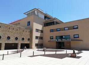 Pla general de l'entrada de l'Hospital Comarcal del Pallars