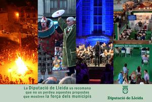 Campanya publicitària de la Diputació de Lleida, la força dels municipis. Gener 2020.