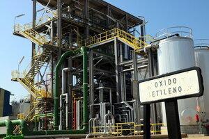 Pla general de la nova planta de l'empresa química IQOXE a la Canonja