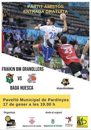 Imatge del partit que se celebrarà a Lleida