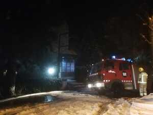 Imatge de l'incendi a Betren