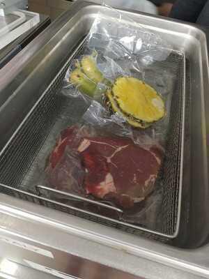 Imatge de la carn madurada amb ultrasons