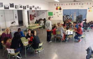 Imatge d'arxiu de l'Escola Cervantes de Lleida.