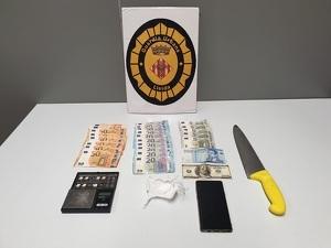 Imatge de la droga trobada per la Urbana