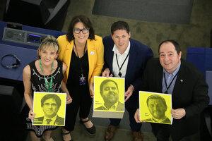 Pla picat dels eurodiputats Martina Anderson, Matt Carthy, Diana Riba i Pernando Barrena