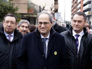Pla obert del president de la Generalitat, Quim Torra